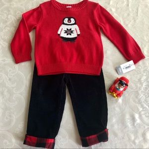 Carter's Penguin Outfit